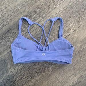 lululemon athletica Intimates & Sleepwear - Lululemon periwinkle sports bra